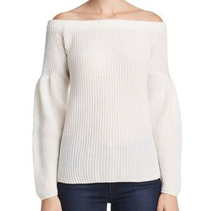 NWT Rebecca Minkoff Off the Shoulder Sweater SzM